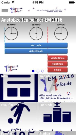 EM2016 - Infos