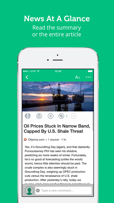 Energy  Oil News