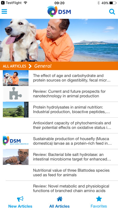 DSM ANH Science News
