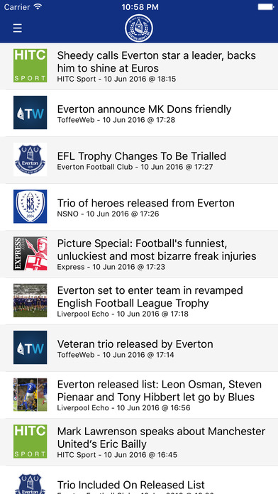 Everton Aren't We