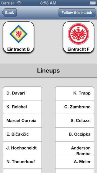 Eintracht Frankfurt.