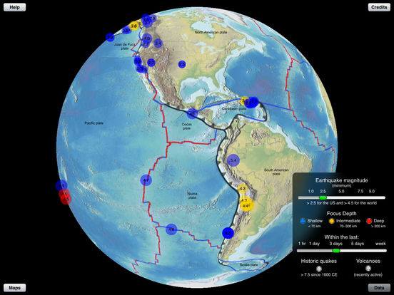 Earthquake Finder