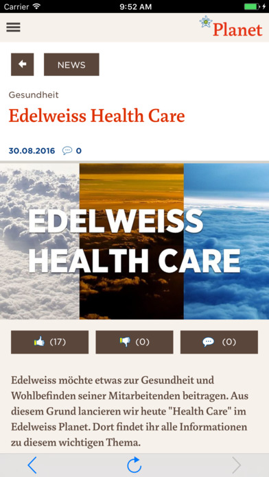Edelweiss Planet