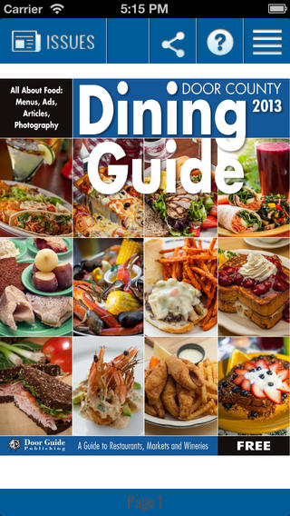 Door County Dining Guide