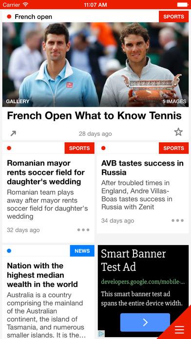 Escenic Mobile News