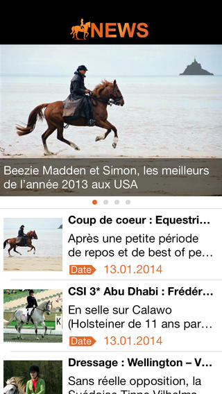 EquitaNews : Toute l'actualité de l'Equitation