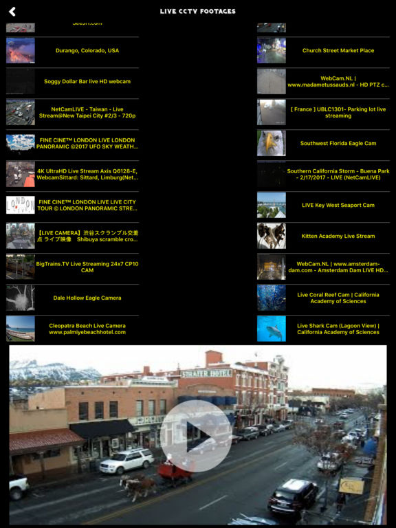 CCTV LIVE相机视频