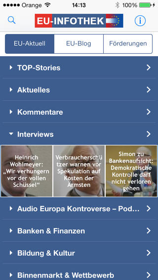 EU-Infothek iPhone Edition