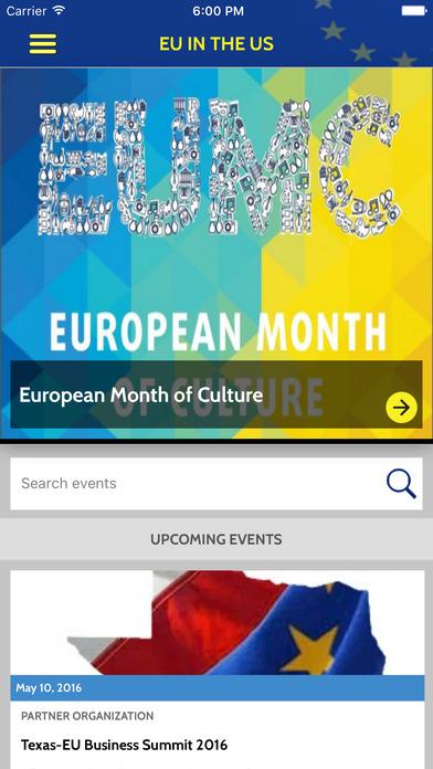 EUintheUS Events