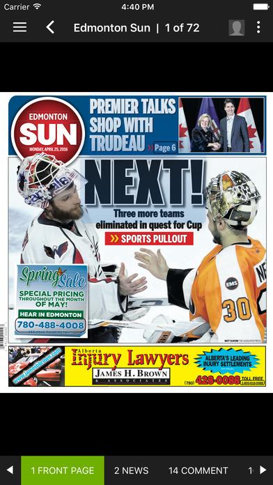 Edmonton Sun eEdition