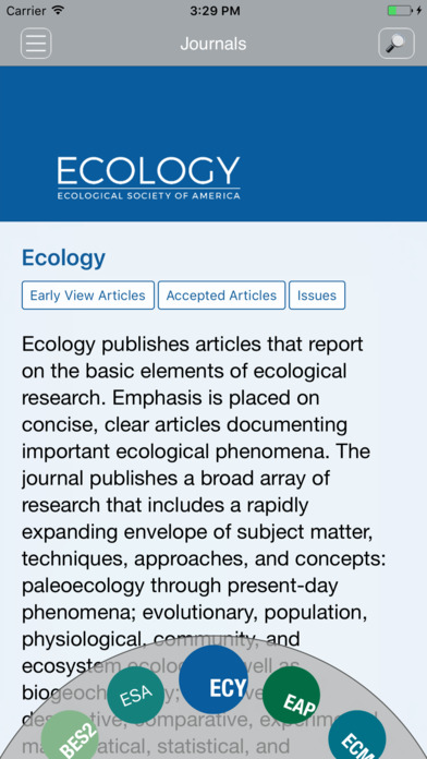Ecological Society of America