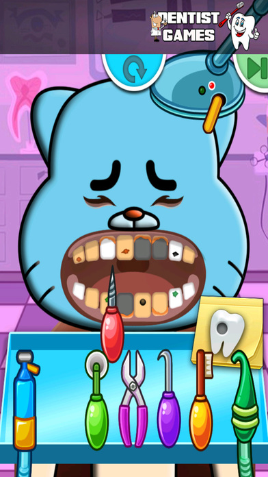 Dentist Game Kids For Friends Of Rabbit