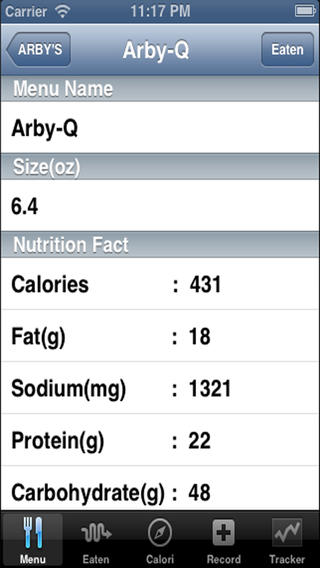 Diet Tracker Diabetic