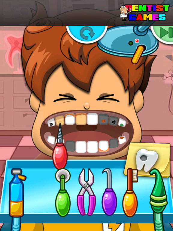 Dentist Game Kids For Soccer Boy Version