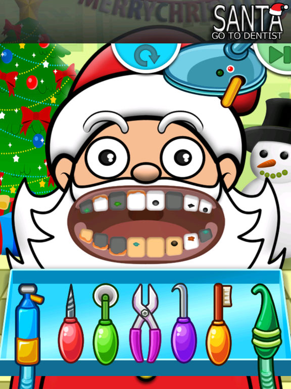 Doctor Dentist Game Kids Santa Merry Christmas