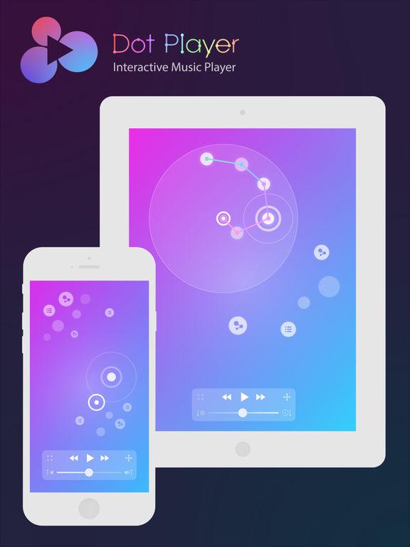 DotPlayer - Interactive Music player (MP3, sounds)
