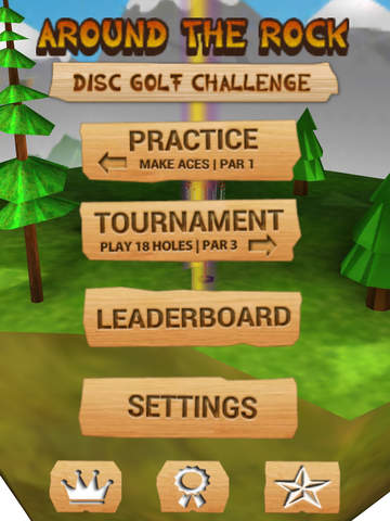 Around the Rock Disc Golf