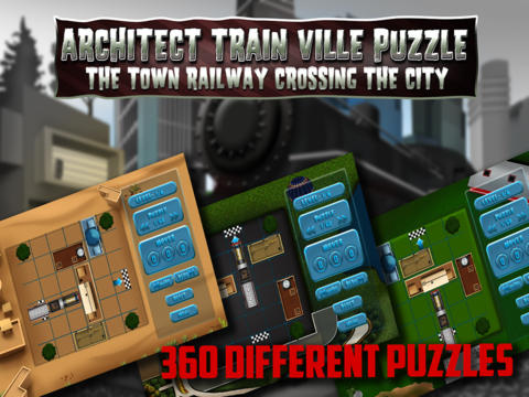 Architect Train Ville Puzzle - PRO