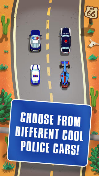 Awesome Police Race Multiplayer Lite