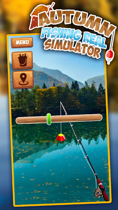 Autumn Fishing Real Simulator