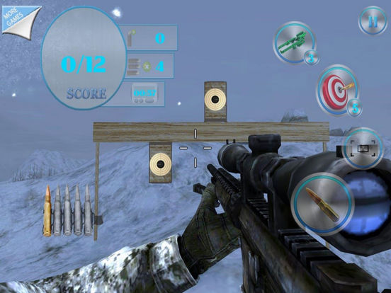 Army Shooting Train - Target 3D