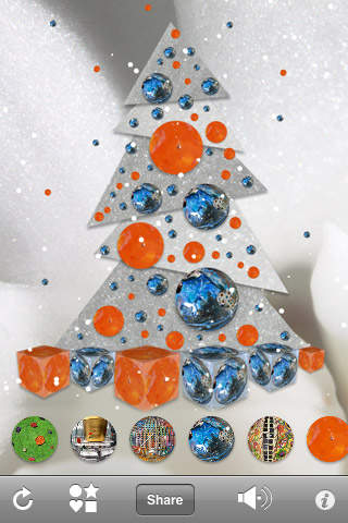 Arty Christmas Tree