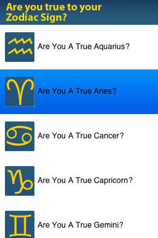 Are you true to your Zodiac Sign?