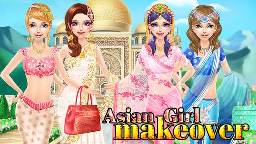 Asian Girl Makeover
