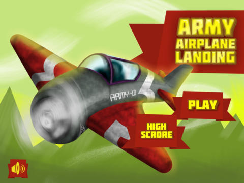 Army Airplane Landing Lite