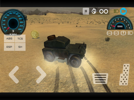 Army Vehicle Military Base Driving Simulation