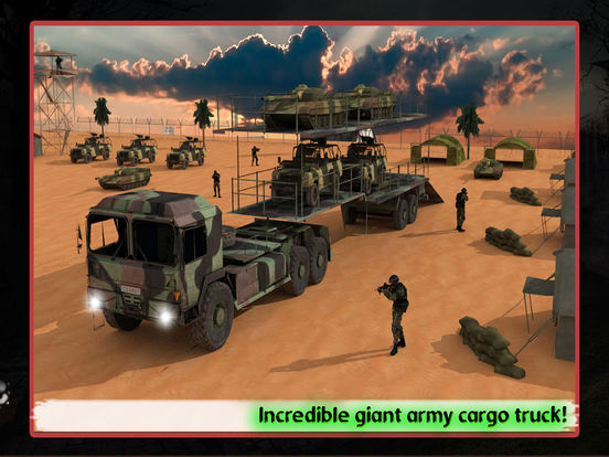 Army Cargo Transport Truck 2016