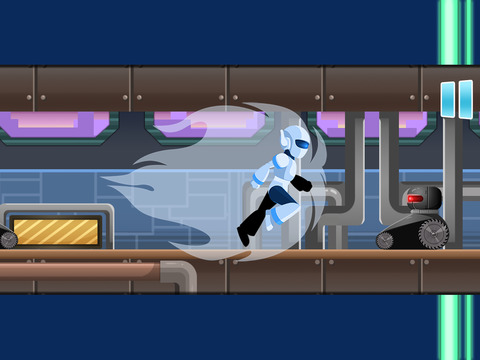 Atom Robot Race PRO - Old School Platformer Game HD