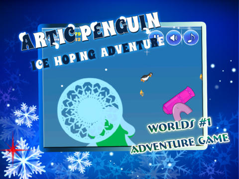 Artic Penguin Ice Hoping Adventure Free