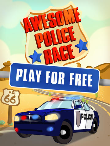 Awesome Police Race - Fast Driving Game