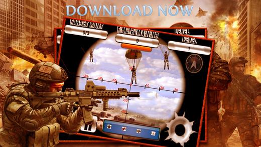 Army Commando Sniper War - Sniper Game