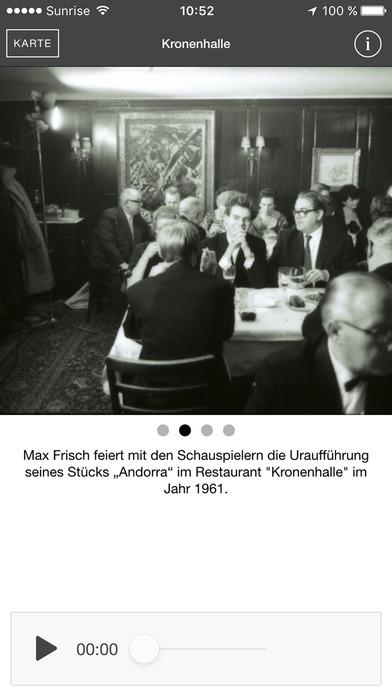 Auf den Spuren von Max Frisch