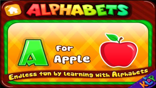 Alphabets Teacher - A to Z HD