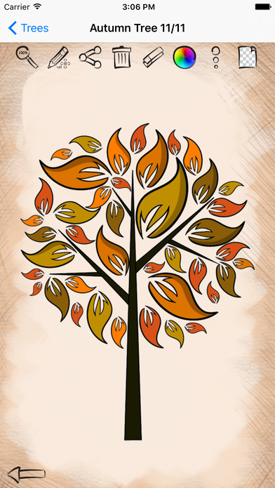 绘画艺术树