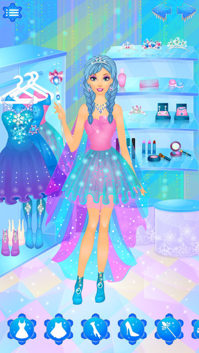 Arctic Snow Queen: Ice Princess Makeup & Dress Up