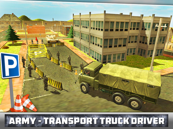 Army - Transport Truck Driver