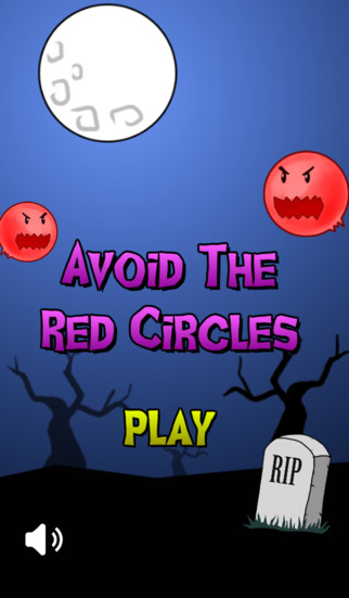 Avoid The Red Circles Ghost