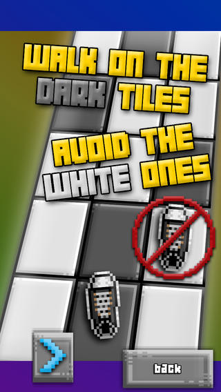 Avoid White Tile In A Dark Room Mini Game