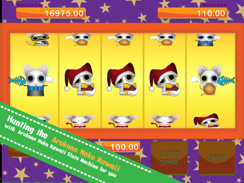 Arukone Neko Kawaii - Slots Machine Free