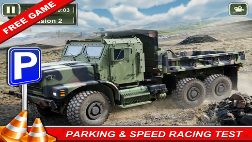 Army Truck - Parking Driving Simulator