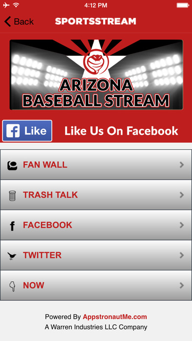 ARIZONA BASEBALL STREAM