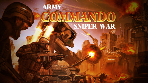 Army Commando Sniper War - Sniper Game