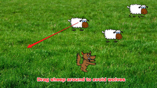 Awesome Wolf vs Small Sheep Premium