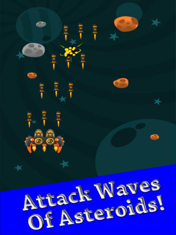 Attack The Asteroids At Warp Speed
