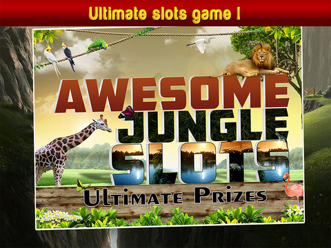 Awesome Jungle Slots: Ultimate Prizes