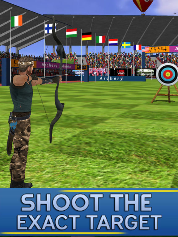 Archery Target Simulation